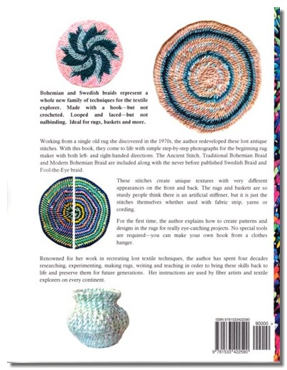 New Family Of Techniques For The Textile Explorer Made With A Hook But Not Crocheted Looped And Laced Nalbinding Ideal Rugs Baskets